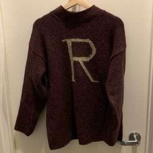 Harry Potter 'R for Ron' sweater